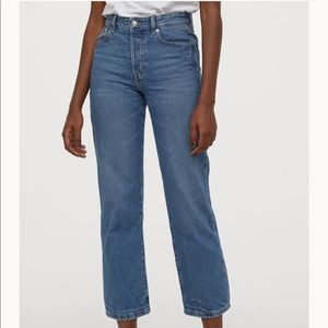 High waisted H&M mom jeans